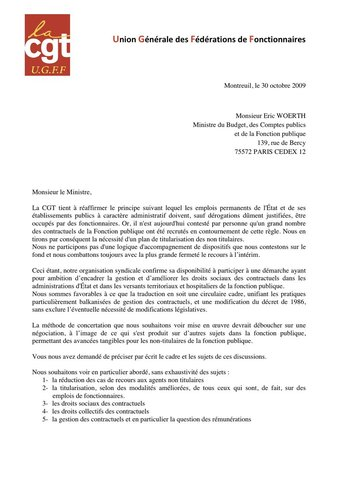 Emploi des contractuels de la Fonction publique